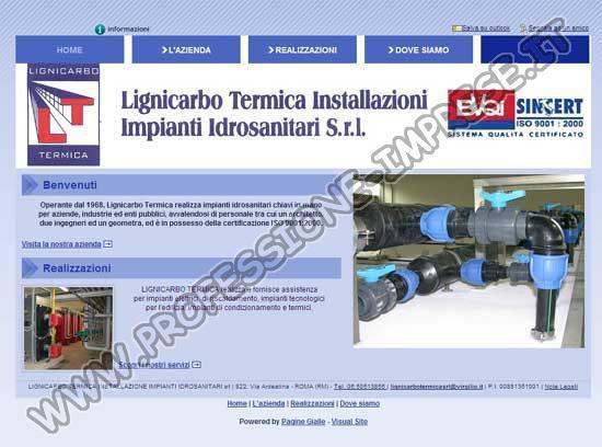 Lignicarbo Termica Installazione Impianti Idrosanitari Srl
