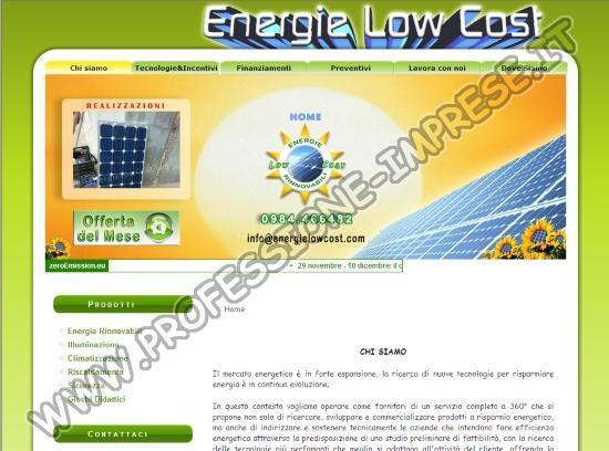 Energie Low Cost Sas